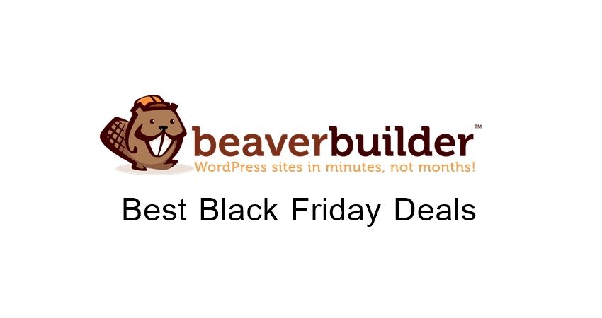 Beaver Builder Black Friday