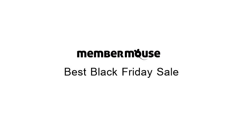 MemberMouse Black Friday