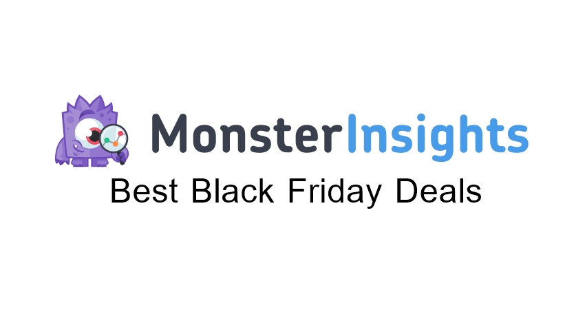 MosterInsights Black Friday