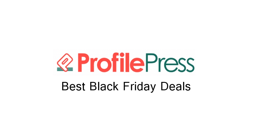 ProfilePress Black Friday