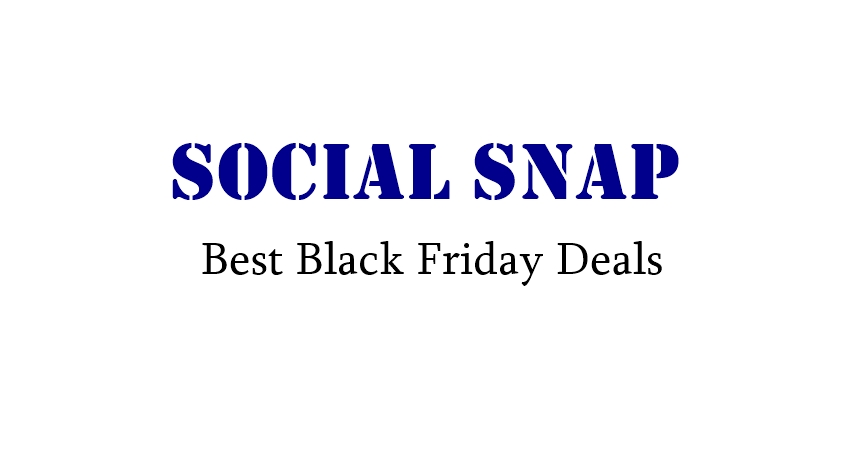 Social Snap Black Friday