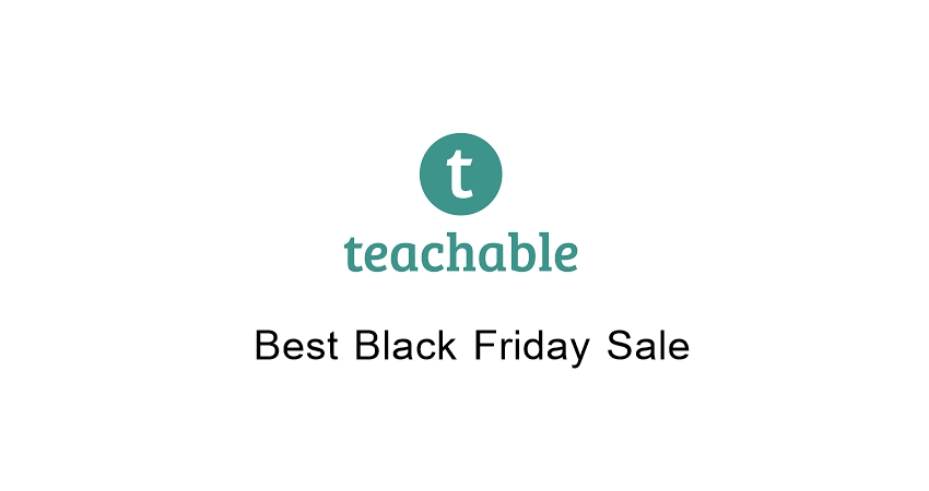 Teachable Black Friday