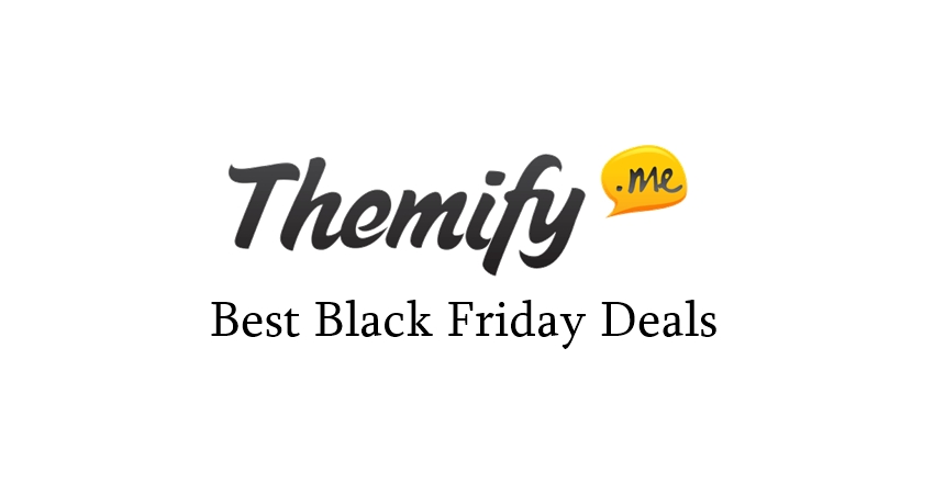 Themify Black Friday