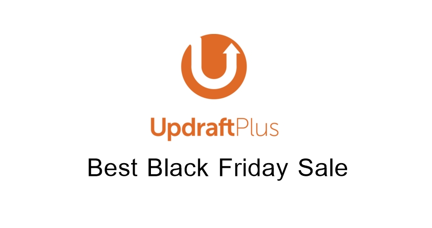UpdraftPlus Black Friday