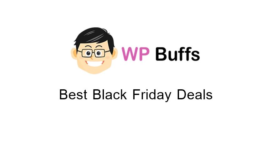 WP Buffs Black Friday