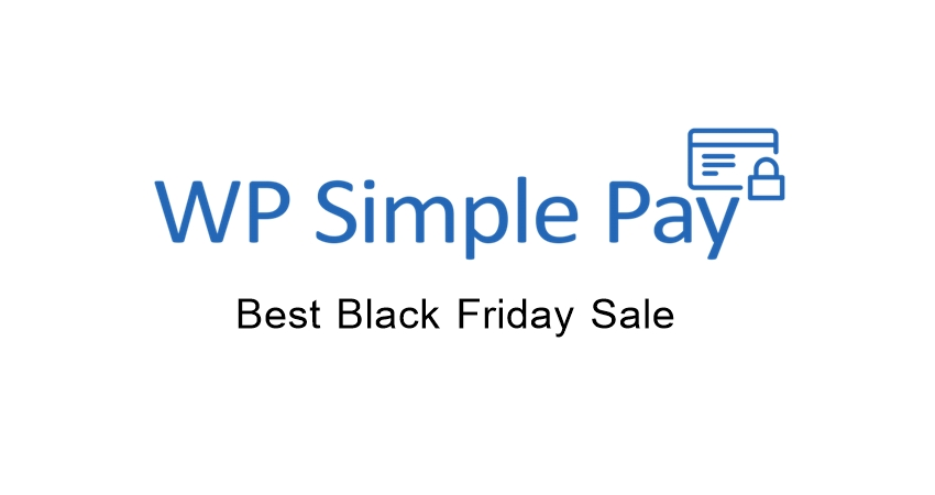 WP Simple Pay Black Friday