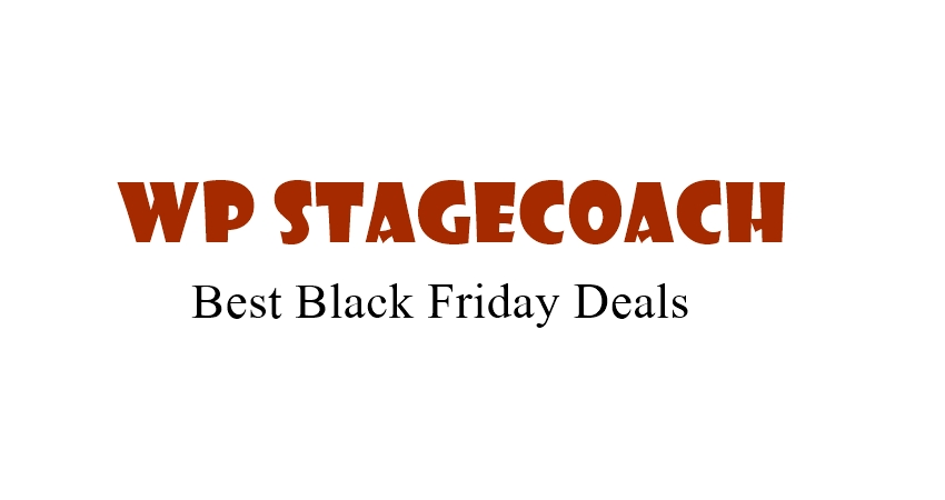 WP StageCoach Black Friday