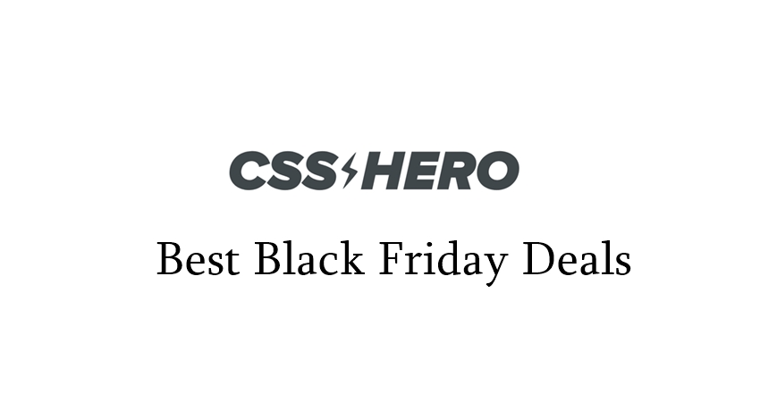 css hero black friday