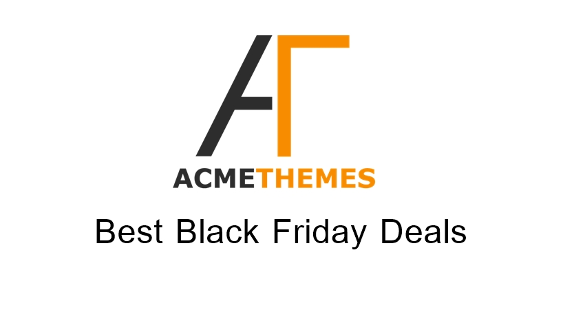 Acme Themes Black Friday