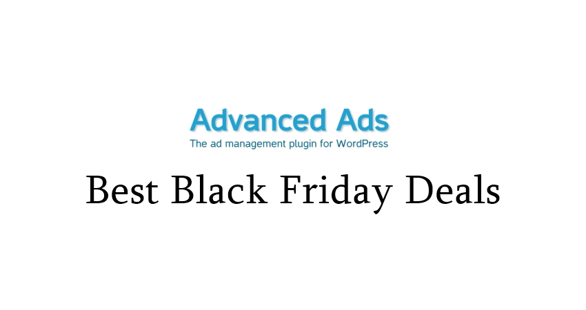 Advanced Ads Black Friday