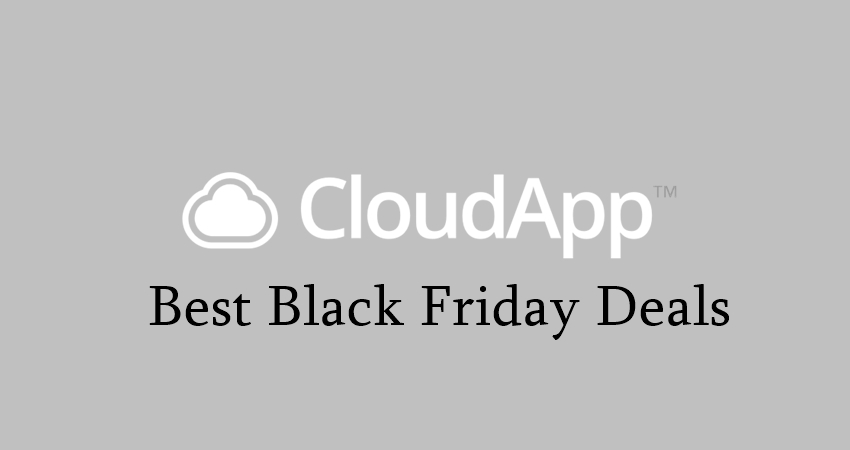 cloudapp black friday