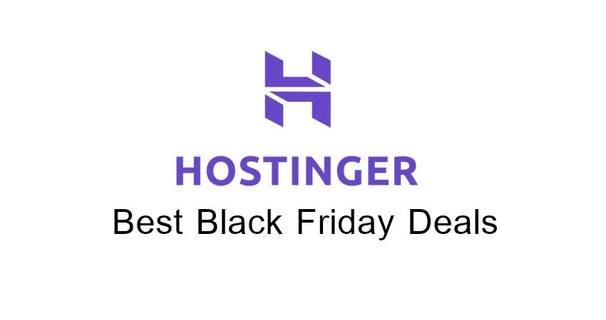 Hostinger Black Friday