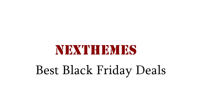 NexThemes Black Friday