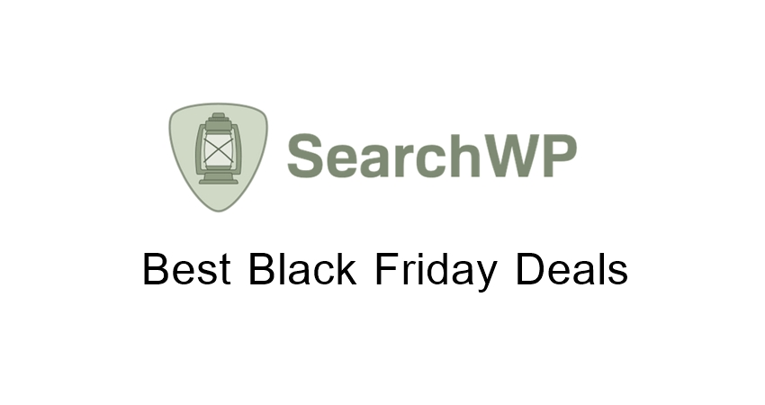 SearchWP Black Friday